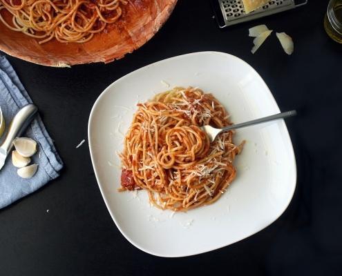 REcept za špagete na hitro