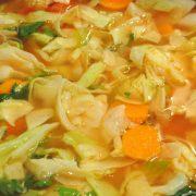 Recept za Zeljna juha z mesom