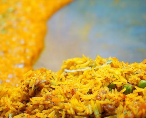 Sadni curry riž