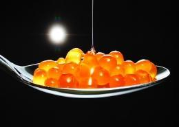 Melonin kaviar Recept